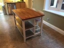 ikea stenstorp kitchen island ikea stenstorp kitchen island two ingolf stools with backrest ebay