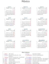 calendario imss 2016 das festivos calendario laboral 2011 la economia
