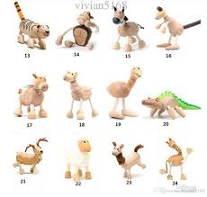 2018 maple wood handmade moveable animals farm animal wooden
