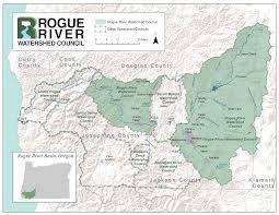 Oregon River Map by Watershedmap Display Gif
