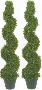 2 boxwood spiral topiary artificial outdoor uv tree 4 2 pool 5