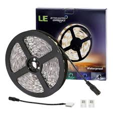 le better lighting experience le lux 12v flexible led strip lights warm white super bright