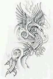 feminine phoenix tattoos phoenix feminine and delicate