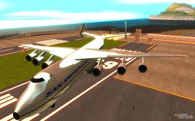 antonov an 225 mriya for gta san andreas