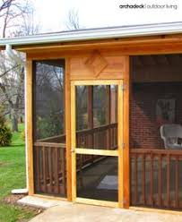 patio mate screened enclosure chestnut almond color screen