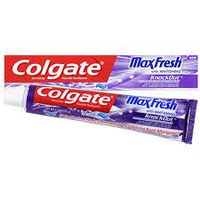 toothpaste whitening bulk colgate max fresh knock out whitening toothpaste 2 5 oz