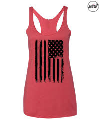 Flag Clothing American Flag Tank Top Merica Tank Top Fourth Of July America