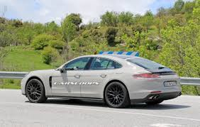 new porsche 2017 silly light stickers can u0027t hide new 2017 porsche panamera