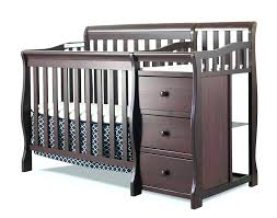 black crib with changing table crib changing table combo black cribs black cribs black crib
