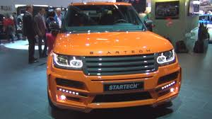 orange range rover land rover range rover pick up 3 0 v6 sc startech 2016 exterior