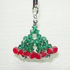 How To Make Christmas Ornaments Out Of Beads - 130 best beaded christmas trees images on pinterest christmas