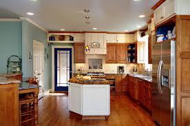 elegant classic cherry kitchen cabinets with granite countertops
