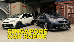 mitsubishi singapore singapore car scene youtube