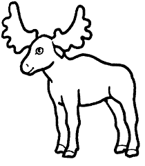 baby moose coloring pages cartoon moose coloring pages coloring