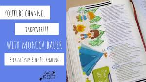 channel takeover welcome monica bauer from because jesus bible