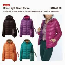 uniqlo ultra light down jacket or parka azzahra s story uniqlo s ultra light down coat