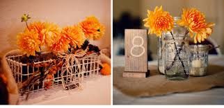 Wedding Centerpieces Using Mason Jars by Elegant Fall Wedding Decoration With Mason Jarswedwebtalks