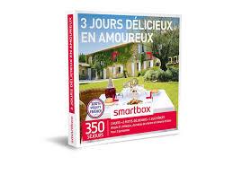 Coffret Cadeau évasion En Amoureux Coffret Cadeau 3 Jours Délicieux En Amoureux Smartbox