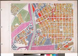 Map Of Los Angeles Cities by File Wpa Land Use Survey Map For The City Of Los Angeles Book 6