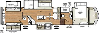 5th wheel rv floor plans two bedroom rv floor plans collection also fifth wheel vohne
