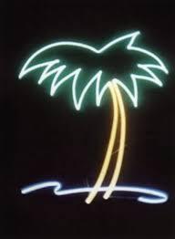 palm tree neon light palm tree surf neon art neon sculptures neon signs neon