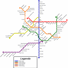 My Subway Map by Sao Paulo Subway Map My Blog