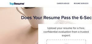 Resume Professional Writers Ripoff Topresume Reviews 2 494 Reviews Of Topresume Com Sitejabber