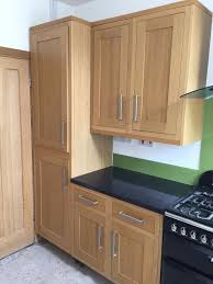 sold cooke and lewis kitchen units with solid oak doors in