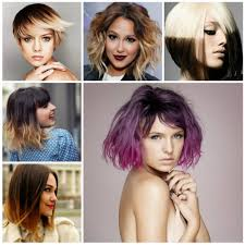 haircuts for ombre hair 2017 short haircuts in ombre hair colors