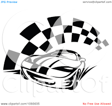 box car clipart racer with flames free black and white clipart