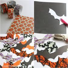 Hanging Bats Halloween Decor by Halloween Diy Decorations Hoosier Homemade