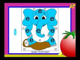 letter recognition worksheet for kindergarten small e youtube