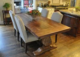 emerson trestle custom rustic farm table atlanta denver trends