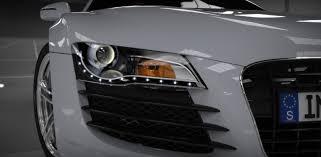 Audi R8 Front - audi r8 render fun