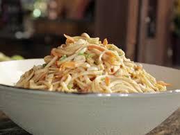 peanut soba noodle salad recipe guy fieri food network