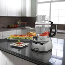 kitchen aid food processor kitchenaid food processor 11 cup contour silver food