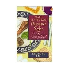 passover seder books make your own passover seder books
