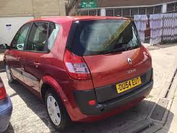 renault megane scenic long mot service history cheap on fuel tax