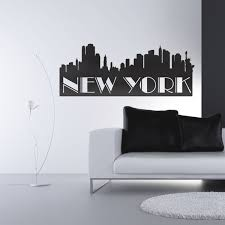 New York City Home Decor Wall Decal New York City Interior Design For Home Remodeling