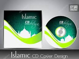 design cd cover islamic cd cover design with mosque or masjid eps 10 vector il