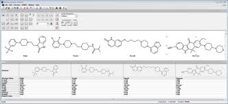 free chemical structure drawing software free adme properties tpsa