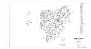 County Map Of North Carolina Lenoir County Maps
