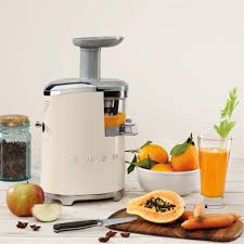 save all the vitamins with our slow juicer smeg small appliances