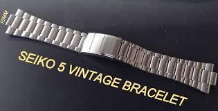 bracelet seiko images Seiko vintage bracelet band strap for seiko 5 7009 3130 6309 8350 jpg