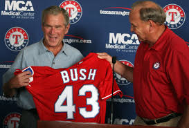 texas rangers photos a look at president george w bush u0027s time