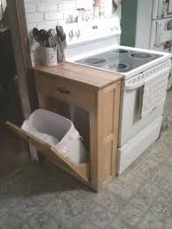 kitchen island with trash bin kitchen island with trash bin trash cans work bin