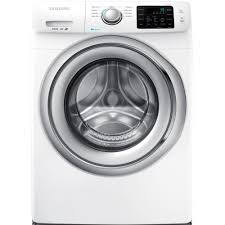Manual Clothes Dryer Samsung 4 2 Cu Ft Front Load Washer With Steam In White Energy