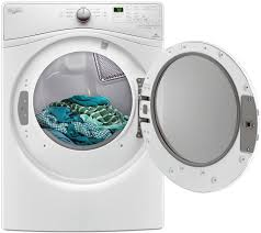 whirlpool white steam electric dryer wed85hefw