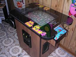 Pacman Game Table by Ms Pac Man Cocktail The Rec Room Pinterest Video Games