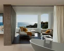 sea view living room home designs 5 bedroom with sea view oceanfront house with pool